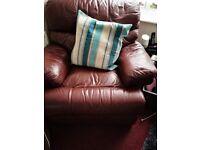 3 seater sofa & chair going cheap