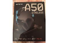 BRAND NEW SEALED PS4 ASTRO A50 WIRELESS GAMING HEADSET