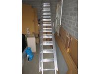 Tripple section ladder 3x7.5 m