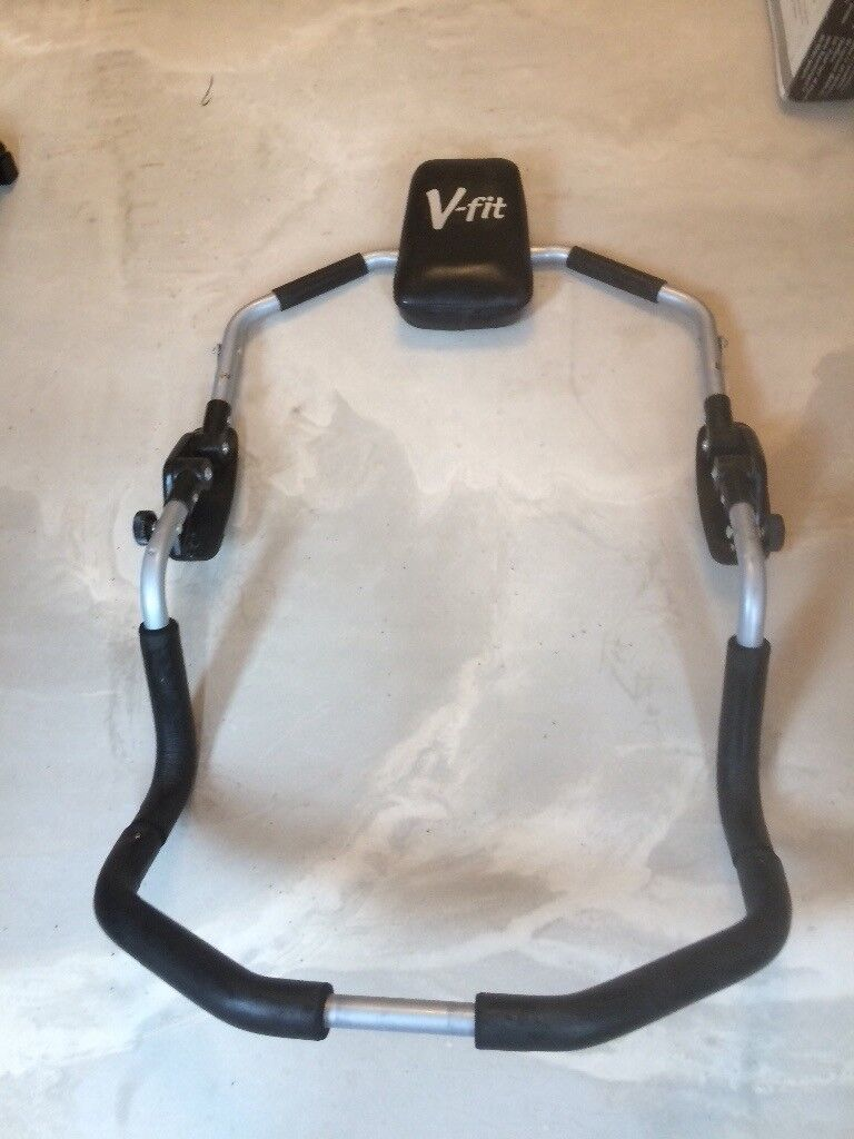 V fit - step system, Ab cruncher and Pro Power bench