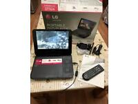 LG Portable DVD Player In Built Screen