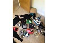 Job lot of rugby equipment