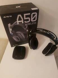 Astro a50 gen2 wireless headset ps4