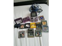 Gameboy colour with lots of extras!