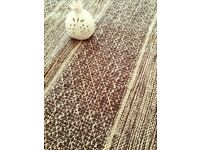Brand new rug from India - brown tones