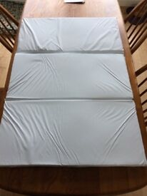 Travel cot mattress 665x960mm