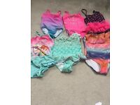 Bundle of girls clothes all in excellent condition age 5-6, 6-7.