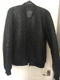 Zara Jacket Mens Black *£22* Large