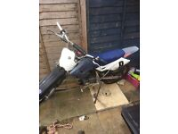 For swap or sale 125cc off road bike