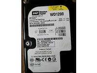 Job lot pc hard drives
