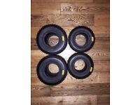 BRAND NEW Unused Mojo Wet Tyres (Minimax) (Stored Inside) £135