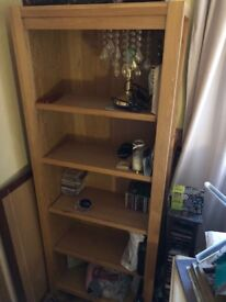 Unit with Shelves & Table to match.High quality.