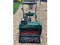 Balmoral 20s Petrol Lawnmower with scarifier