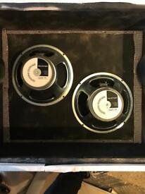 Celestion G12T-75 Speaker Pair