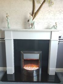 ELECTRI FIRE AND FIRE SURROUND