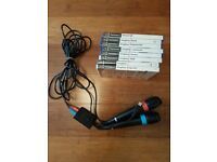 PS2 Singstar bundle