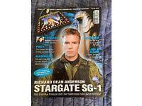 TV Zone magazine Issue 117 August 1999 Stargate SG-1 Richard Dean Anderson