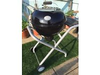 Save over £200, European Outdoor Chef 56cm Porcelain Plated Kettle BBQ Urban Line Classic 570