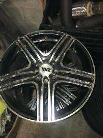 Alloy wheels 17 inch 4/100 and 4/108