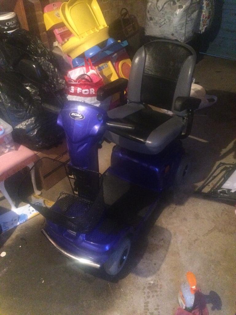 E.C.M mobility scooter