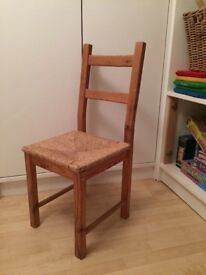 One wooden dining chair