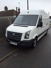 Volkswagen crafter CR35 109 LWB MOT until 23 may 2018 electric windows and mirrors good tyres