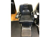 3 barbers chairs in black all working 100%