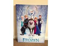 Frozen canvas picture