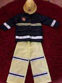 Fire man sam fancy dress 4/5 yrs