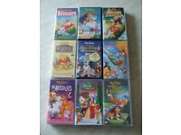 Disney Studios Classic VHS Animated Films 18 to choose from - £1 each. Free Delivery in Dunfermline
