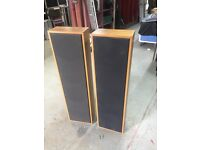 Pair of old column speakers - suitable for project