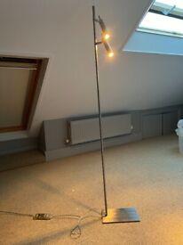 Habitat double floor lamp