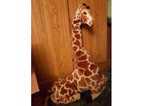 Giant Giraffe Teddy Toy Nursery Feature Life Size
