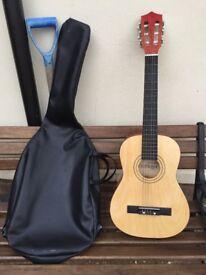 3/4 size Bontempi Classic guitar