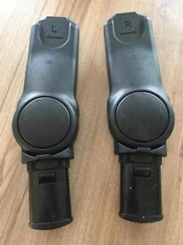 Adapters for maxi cosi pebble car seat to I candy peach