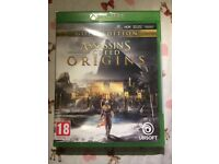 Assassins creed origins gold edition. Brand new.