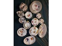 Collection of Royal Worcester, Evesham