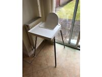High chair. Great condition.