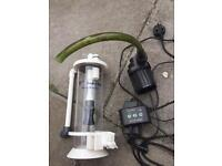 V2 bio pellet reactor and pump with controller
