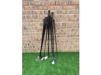 Full set of Ben Sayers golf clubs