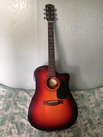Fender CD-60 CE SB Acoustic Guitar