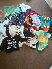 Huge bundle of baby clothes 0 to 12 months
