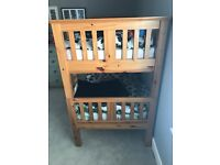 Solid pine bunk beds (mattresses available too) -£400 for all