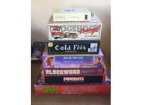Pile of board games - kids & adult