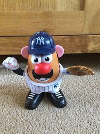 Official MLB New York Yankees Mr Potato Head