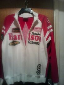 SIZE XXL MENS HARRISON GIBSON ZIP TOP