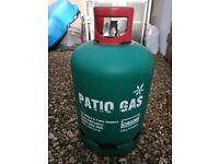 Calor propane gas bottle 13kg - nearly FULL