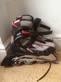 Ladies Size UK6 inline Brooklyn special edition skates excellently second hand condition