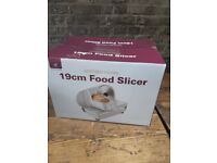 Andrew James food slicer 19cm silver (brand new!)