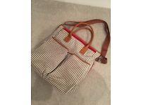 French Stripe Changing Bag